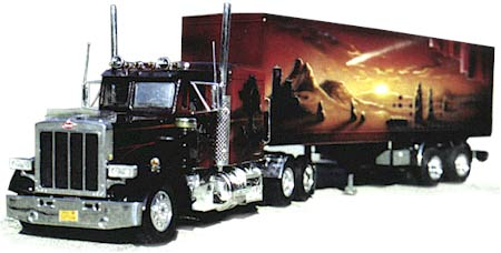 Karl Binder Airbrush Paintings On Trucks And Cars
