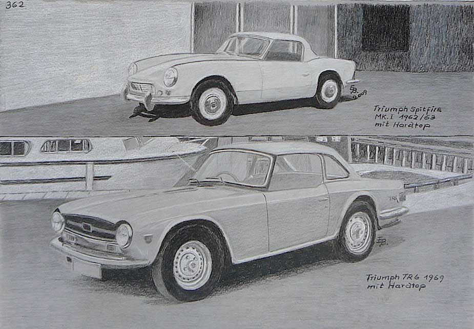 Eckhard Bortz, nostalgic car painter