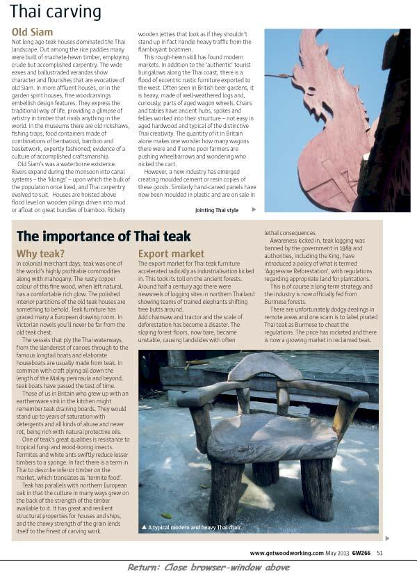 Good Woodworking magazine, UK
